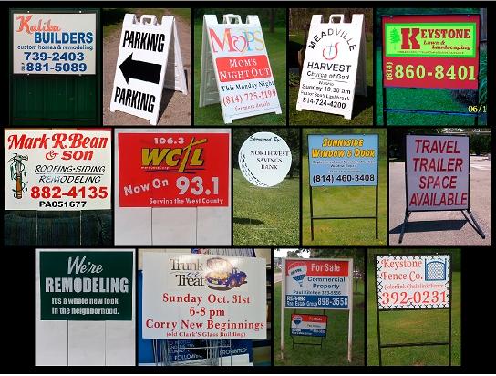 JR Sign Yard & Realty Signs
